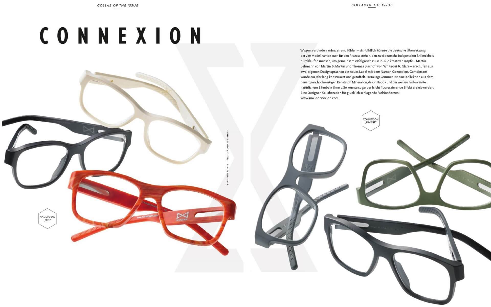 Eyewear Issue 10 / 2014 - Connexion